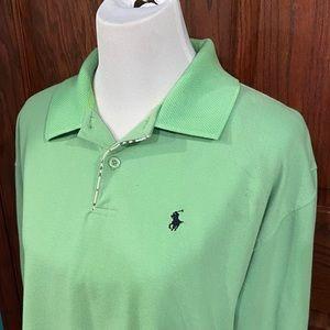 Used Ralph Lauren mint long sleeve polo XL